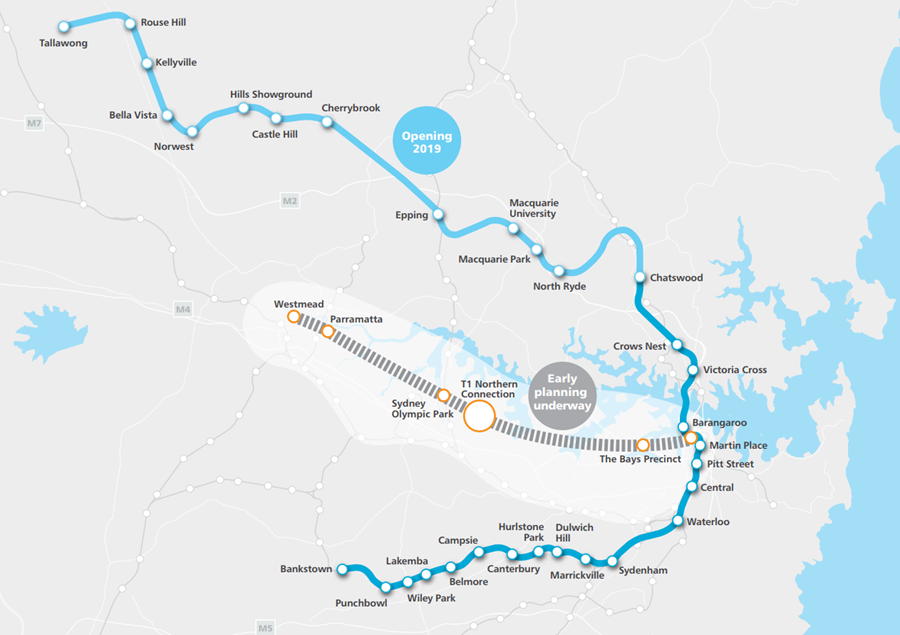Sydney Metro Overview Department Of Planning And Environment
