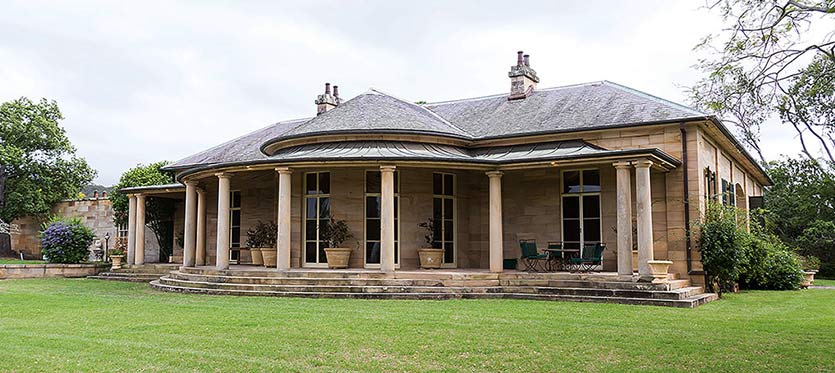 Historic fernhill estate at Mulgoa in new south wales, image by department of planning and environment.