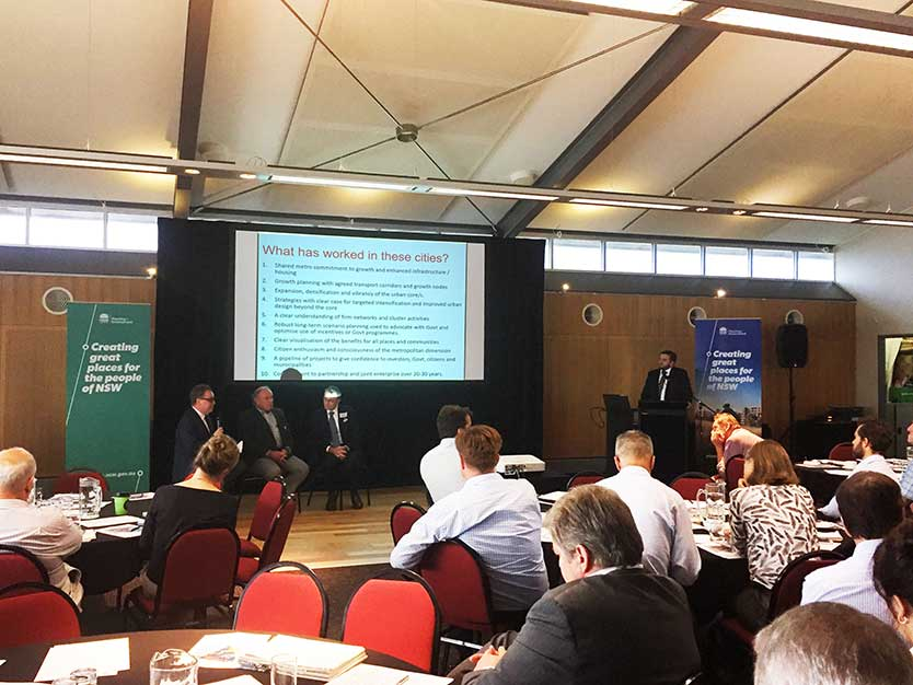 greater newcastle metropolitan planning project launch on 28 02 2017