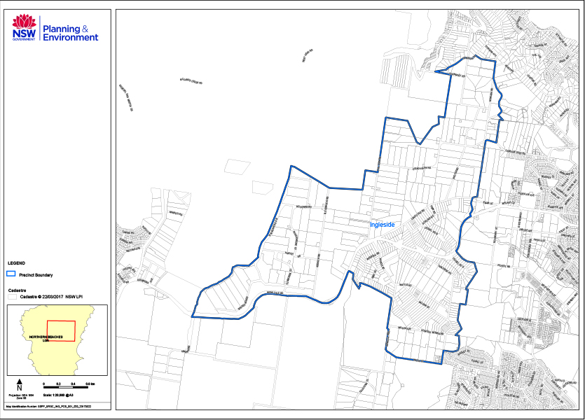 Ingleside growth area map 835x600