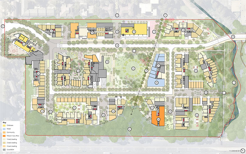 Indicative Ivanhoe masterplan map November 2019