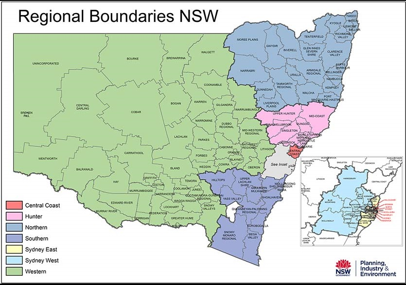 regional boundaries nsw map