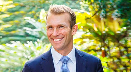 The Hon. Rob Stokes, Minister for Planning and Public Spaces