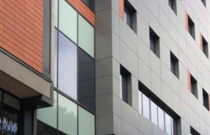 buildings with combustible cladding tile 430x278