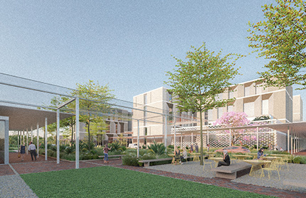 Artist impression Tweed Hospital. Source: Health Infrastructure