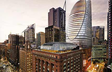 Martin Place North Over Station Development tile 430x278