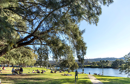 Photo of Tench Reserve, Penrith NSW.