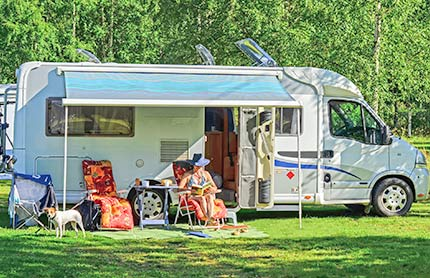 caravans camping and mobile homes tile 430x278