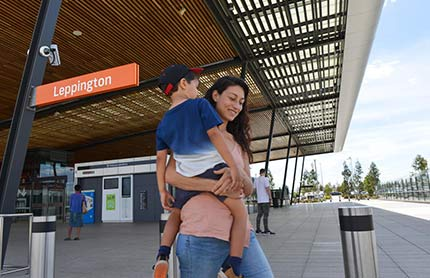 leppington town centre precinct tile 430x278