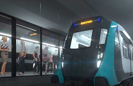 sydney metro bankstown metro arriving at a station 430x278